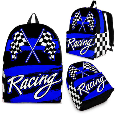 Racing Backpack Blue!