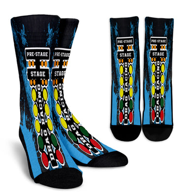 Drag Racing Crew Socks RBCB