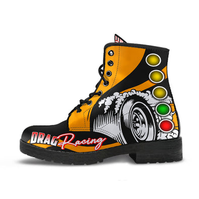 Drag Racing Boots orange