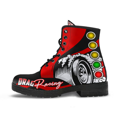 Drag Racing Boots red