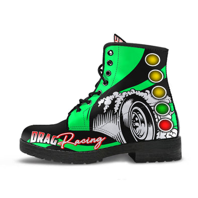 Drag Racing Boots green