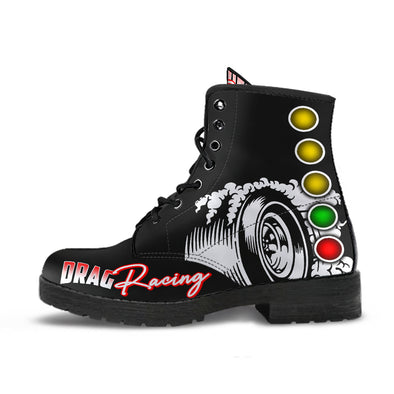 Drag Racing Boots black