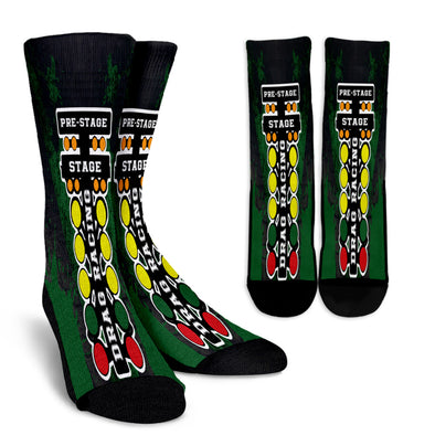 Drag Racing Crew Socks RBG