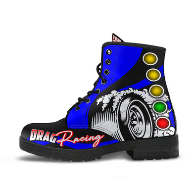 Drag Racing Boots blue