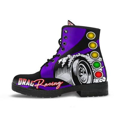 Drag Racing Boots purple