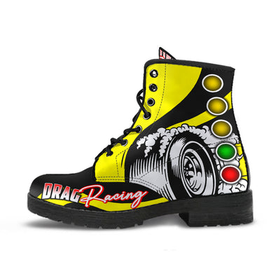 Drag Racing Boots yellow