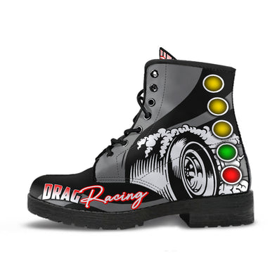 Drag Racing Boots grey