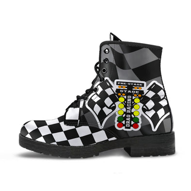 Drag Racing Flag Boots