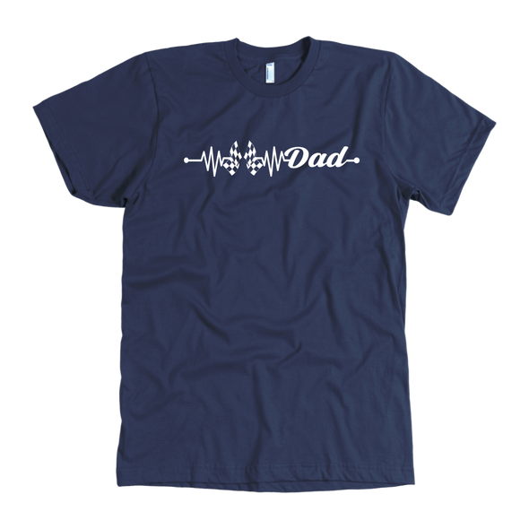 Racing Dad Heartbeat T-Shirts!