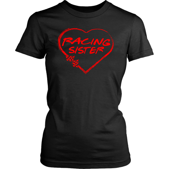 Racing Sister Heart T-Shirts!