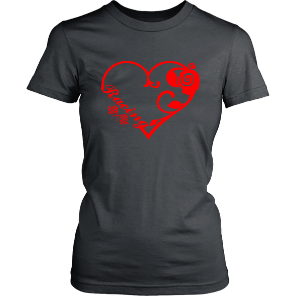 Racing Heart Red Version T-Shirts!