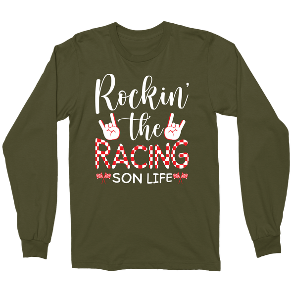 Rockin' The Racing Son Life Hoodies/Tanks!
