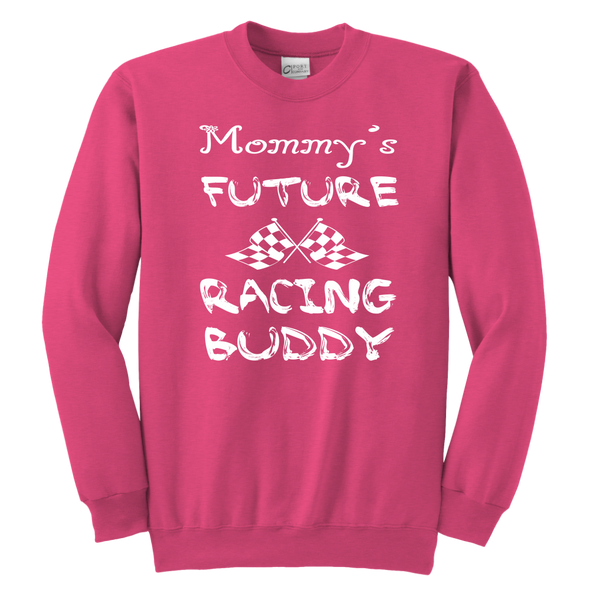 Mommy's Future Racing Buddy Onesies And T-Shirts!