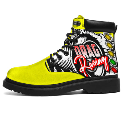 Drag Racing All-Season Boots yellow