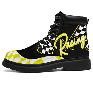 Racing All-Season Boots yellow