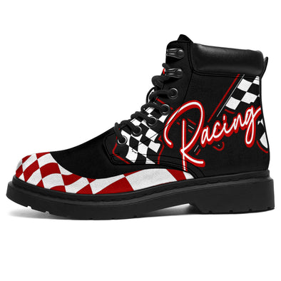 Racing All-Season Boots red