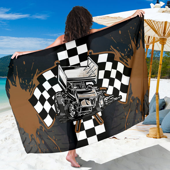 Sprint Car Racing Sarong