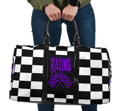 Racing Wife Travel Bag RBPu