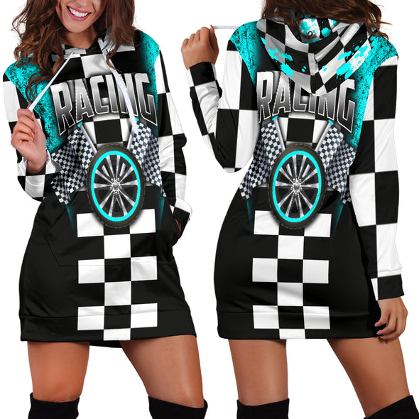 Racing Hoodie Dress