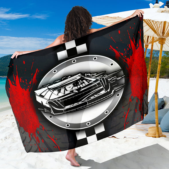 Dirt Racing Late Model Sarong Red