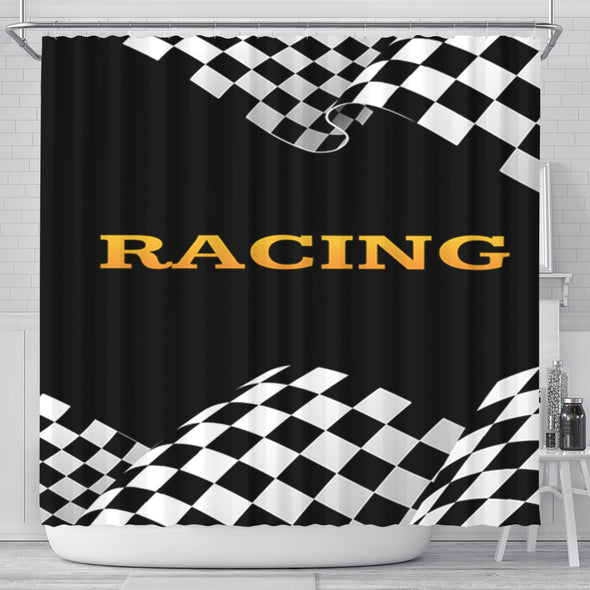 Racing Shower Curtain RB2