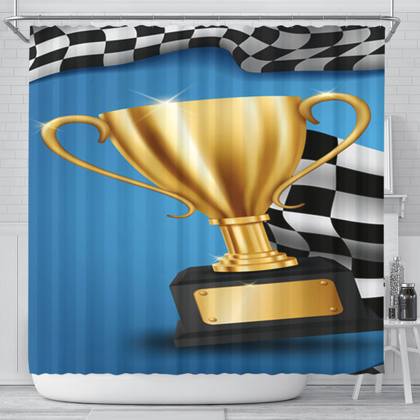 Racing Shower Curtain RB4