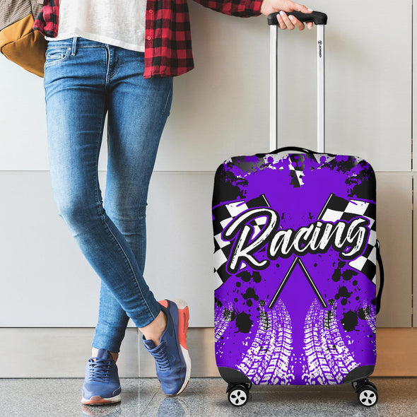 Racing Luggage Cover Purple!