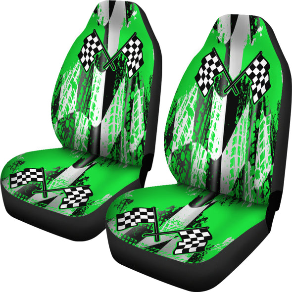 Racing Seat Covers New Green