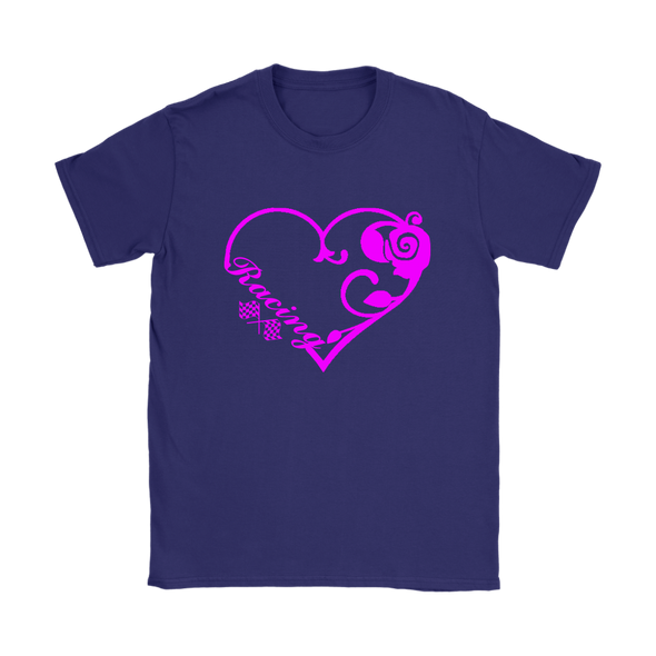 Racing Heart Pink Version T-Shirts!