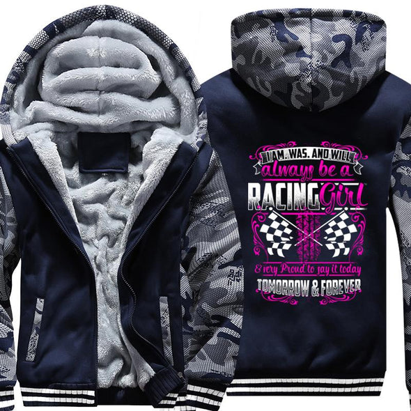 I'm Was And Will Always Be A Racing Girl Jacket〡Free Shipping!