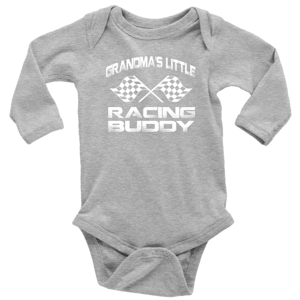 Grandma's Little Racing Buddy Onesies And T-Shirts!