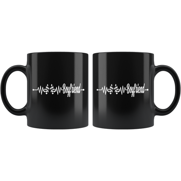 Racing Boyfriend Heartbeat Mug!