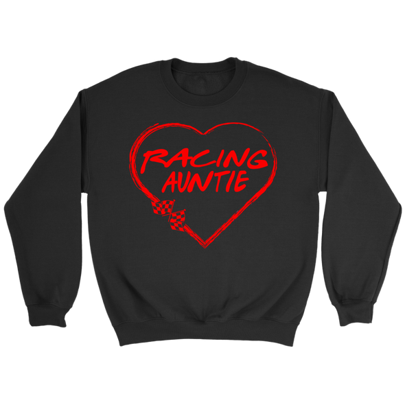 Racing Auntie Heart T-Shirts!