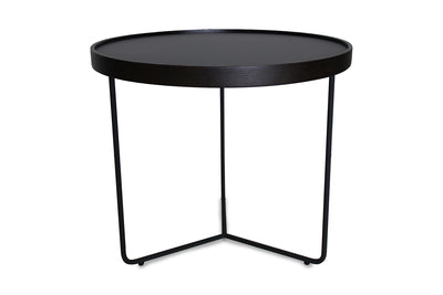 Callisto2 Coffee Table Black Glass Medium