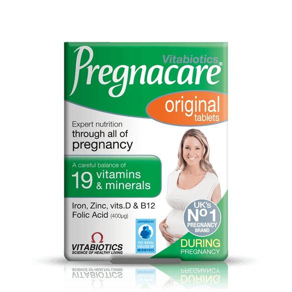 Pregnacare Original (90) Tablets, 19 Vitamins and Minerals for All Stages of Pregnancy