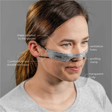 Vitberg Mini Face Shield (2 x Medium)