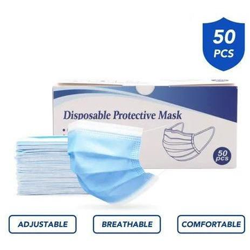 Disposable FaceMask, 3 Layer (50)