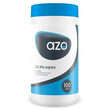 Azo Disinfectant Wipes in Easy Pull Dispenser (100)
