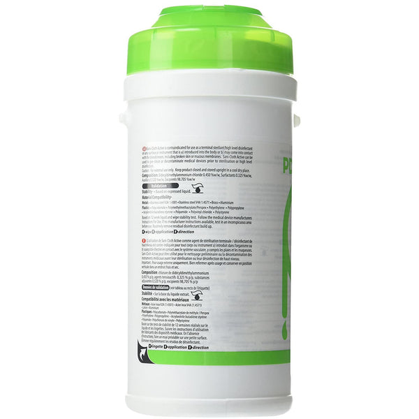 Sani-Cloth AF Active Wipes (200) Canister