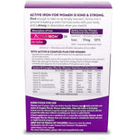 Active Iron & B-Complex Plus For Women (30) Tablets
