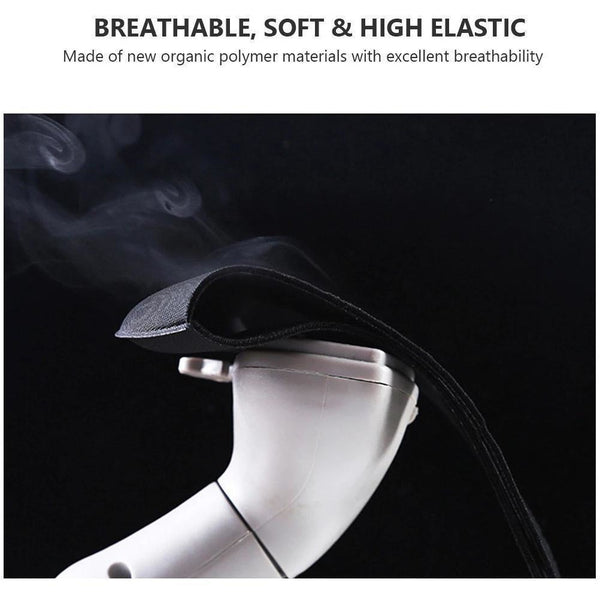 Reusable Washable Fashion Spandex Cloth Facemask, BLACK (offer code 4FOR10)