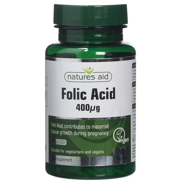 Natures Aid Folic Acid Tablets (90)