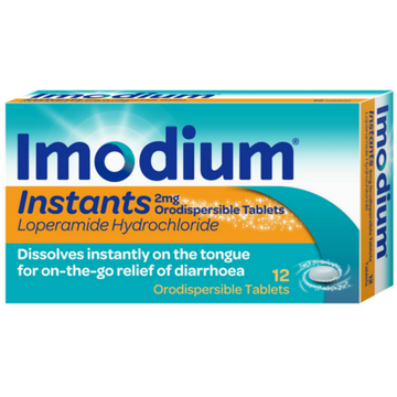 Imodium Instants Melt-in-the-Mouth Tablets (12)