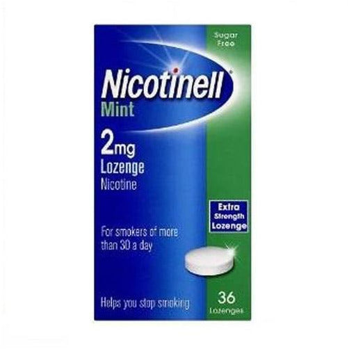 Nicotinell Mint 2mg Lozenges (36)