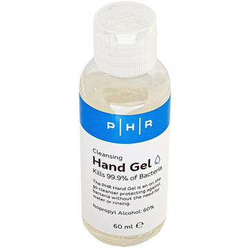 60ml Hand Sanitiser with Flip Top Lid, 60% Alcohol Gel