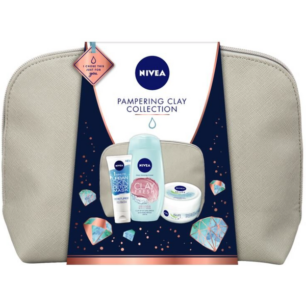 Nivea Pampering Clay Collection