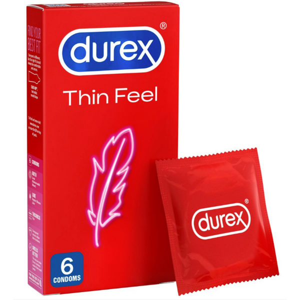 Durex Thin Feel Classic (6 Condoms)