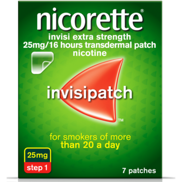 NICORETTE INVISI PATCH 25MG (7)