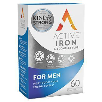 Active Iron & B Complex Plus for Men (60)