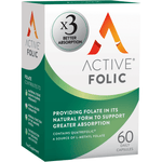 Active Folic, Folic Acid for Pregnancy (60) Tablets